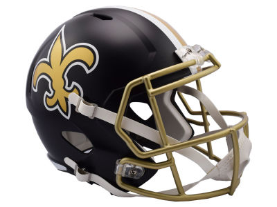 New Orleans Saints Riddell Speed Blaze Alternate Replica Helmet