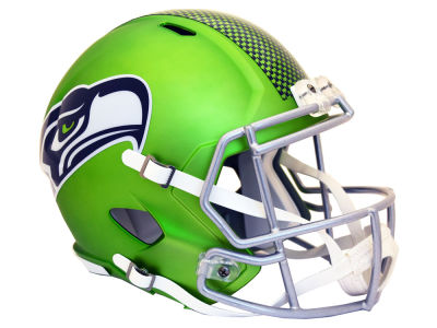 Seattle Seahawks Speed Blaze Alternate Replica Helmet
