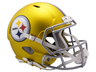 Pittsburgh Steelers Speed Blaze Alternate Replica Helmet