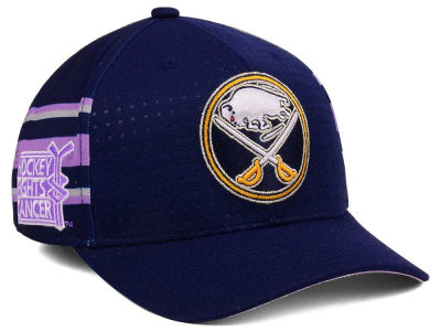 Buffalo Sabres adidas 2017 NHL Hockey Fights Cancer Stretch Cap