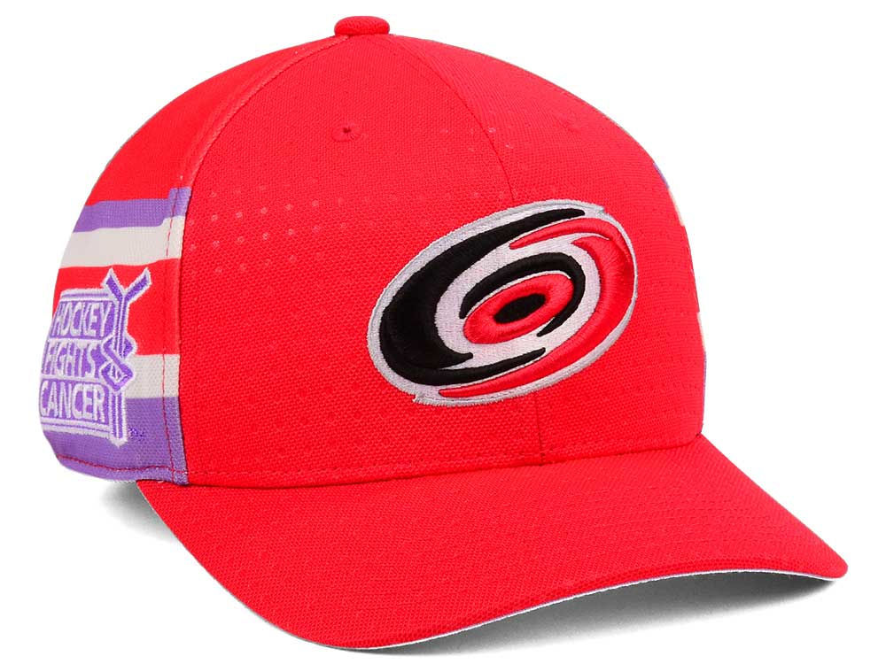 best sneakers 8b1dc 0ba81 promo code for carolina hurricanes adidas 2017 nhl hockey fights cancer  stretch cap a825c f4e46