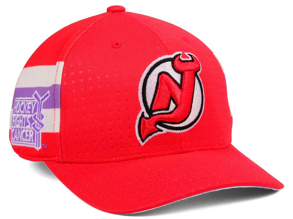 official photos a1eec 740b7 coupon code for new jersey devils hockey fights cancer hat ...