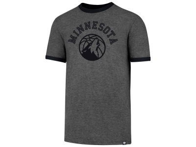 Minnesota Timberwolves '47 NBA Men's Capital Ringer T-shirt