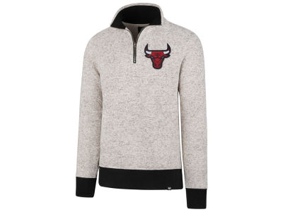 Chicago Bulls '47 NBA Men's Kodiak Tonal Quarter Zip Pullover