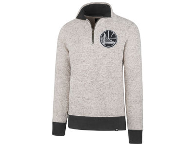 Golden State Warriors '47 NBA Men's Kodiak Tonal Quarter Zip Pullover