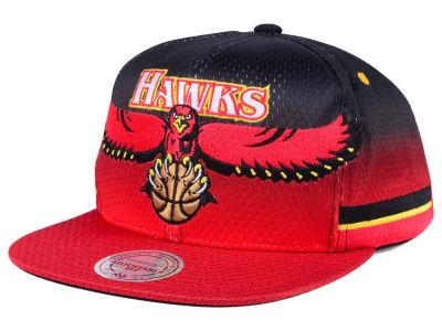 timeless design 16328 ac7d7 Atlanta Hawks Mitchell Ness NBA Jersey Mesh Hook Snapback Cap ...