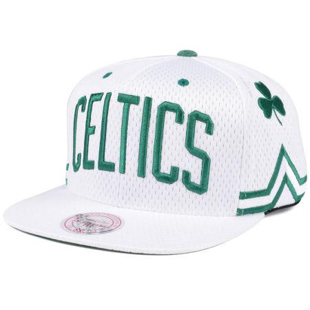 Boston Celtics Mitchell & Ness NBA Jersey Mesh Hook Snapback Cap