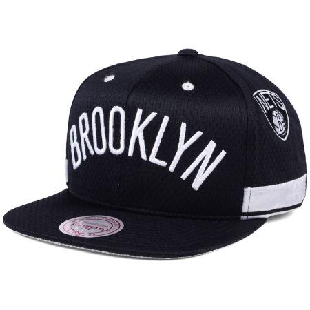 Brooklyn Nets Mitchell & Ness NBA Jersey Mesh Hook Snapback Cap