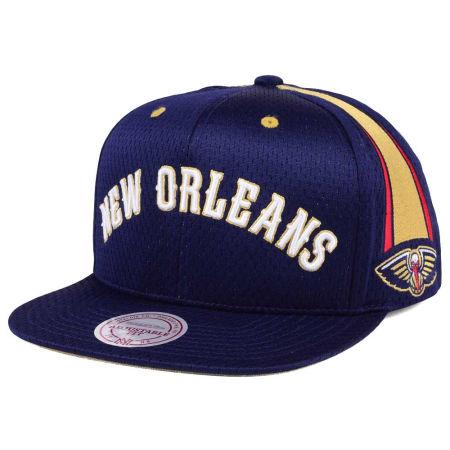 New Orleans Pelicans Mitchell & Ness NBA Jersey Mesh Hook Snapback Cap
