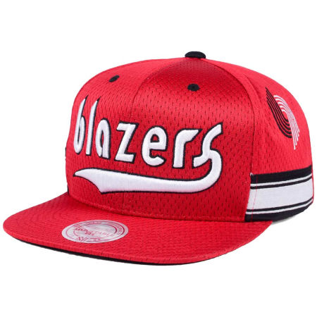 Portland Trail Blazers Mitchell & Ness NBA Jersey Mesh Hook Snapback Cap