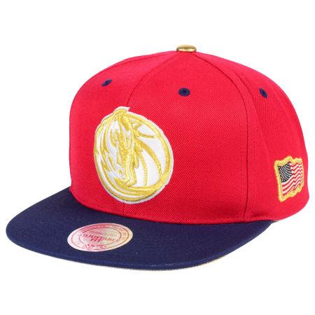 Dallas Mavericks Mitchell & Ness NBA USA 2Tone 2.0 Snapback Cap