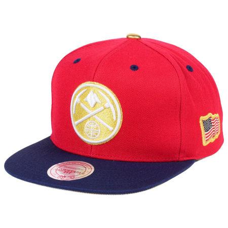Denver Nuggets Mitchell & Ness NBA USA 2Tone 2.0 Snapback Cap