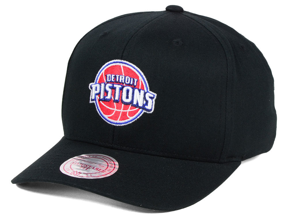 Detroit Pistons Mitchell   Ness NBA X Flexfit 110 Snapback Cap ... c528da398f74