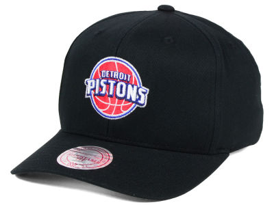 Detroit Pistons Mitchell & Ness NBA X Flex Fit Snapback Cap