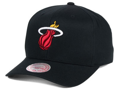 Miami Heat Mitchell & Ness NBA X Flex Fit Snapback Cap
