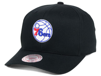 Philadelphia 76ers Mitchell & Ness NBA X Flex Fit Snapback Cap
