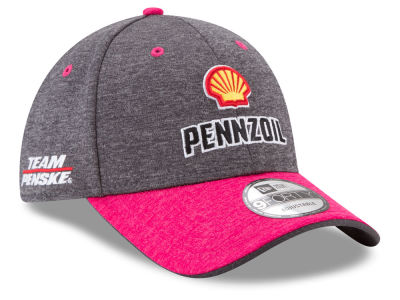 Joey Logano New Era 2017 NASCAR Breast Cancer Awareness 9FORTY Cap