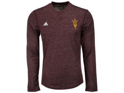 Arizona State Sun Devils adidas NCAA Men's Henley Long Sleeve T-Shirt