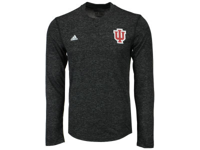 Indiana Hoosiers adidas NCAA Men's Henley Long Sleeve T-Shirt