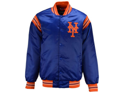 New York Mets Starter MLB Men's Legacy Satin Jacket