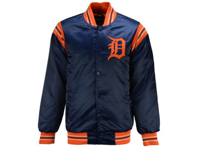 Detroit Tigers Starter MLB Men's Legacy Satin Jacket