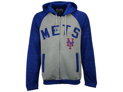 New York Mets MLB Men's Legend Hooded Track Jacket