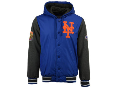 New York Mets Starter MLB Men's Top Brass Commemorative Varsity Jacket