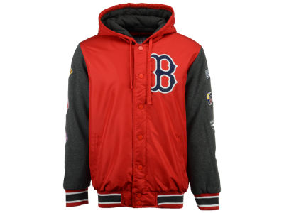 Boston Red Sox Starter MLB Men's Top Brass Commemorative Varsity Jacket