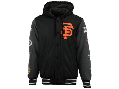 San Francisco Giants Starter MLB Men's Top Brass Commemorative Varsity Jacket