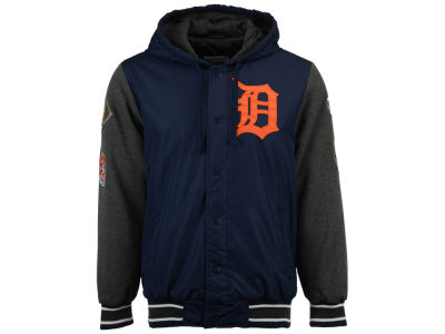 Detroit Tigers Starter MLB Men's Top Brass Commemorative Varsity Jacket