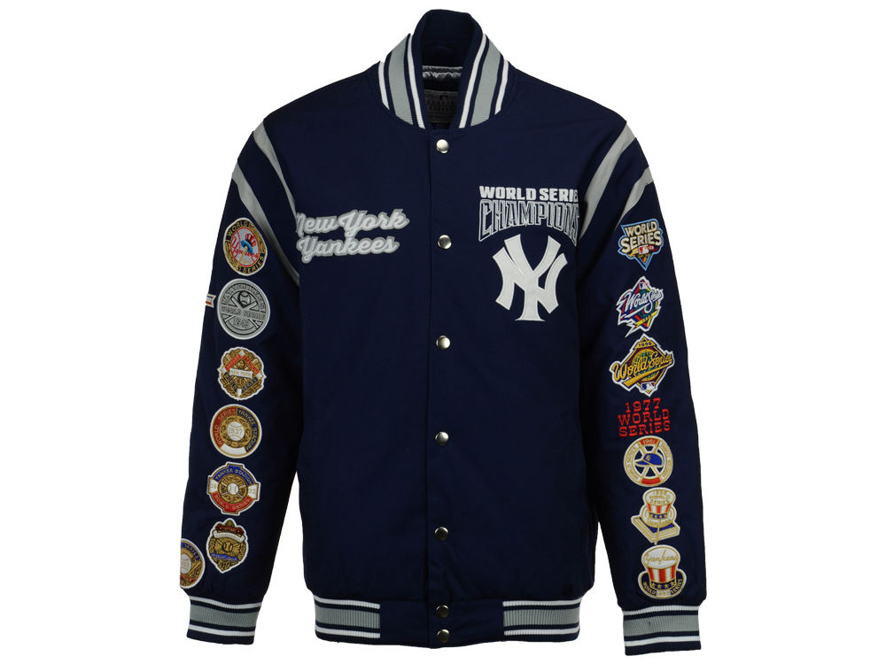 New York Yankees Starter MLB Men s All Time Comm Varsity Jacket ... 7487e64d6f4