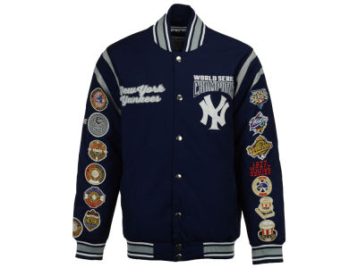 New York Yankees Starter MLB Men's All Time Comm Varsity Jacket