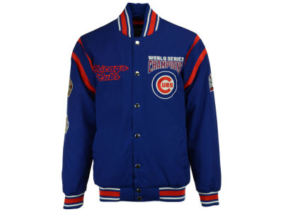 Chicago Cubs Starter MLB Men's All Time Comm Varsity Jacket
