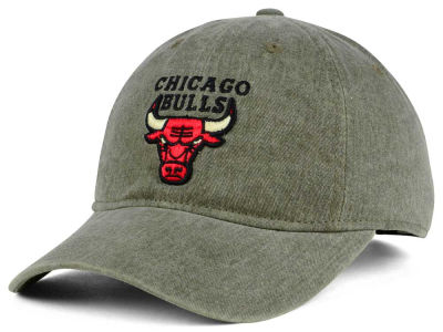 Chicago Bulls Mitchell & Ness NBA Blast Wash Dad Hat