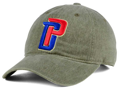 Detroit Pistons Mitchell & Ness NBA Blast Wash Dad Hat