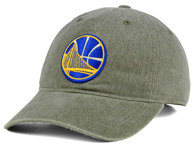 Golden State Warriors Mitchell & Ness NBA Blast Wash Dad Hat