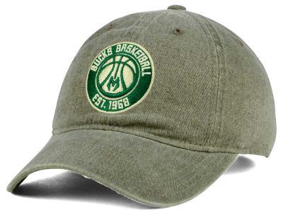 Milwaukee Bucks Mitchell & Ness NBA Blast Wash Dad Hat