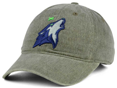 Minnesota Timberwolves Mitchell & Ness NBA Blast Wash Dad Hat
