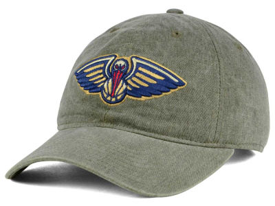 New Orleans Pelicans Mitchell & Ness NBA Blast Wash Dad Hat