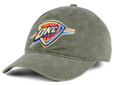 Oklahoma City Thunder Mitchell & Ness NBA Blast Wash Dad Hat