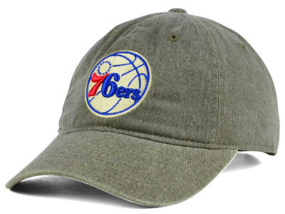 Philadelphia 76ers Mitchell & Ness NBA Blast Wash Dad Hat