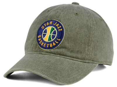 Utah Jazz Mitchell & Ness NBA Blast Wash Dad Hat