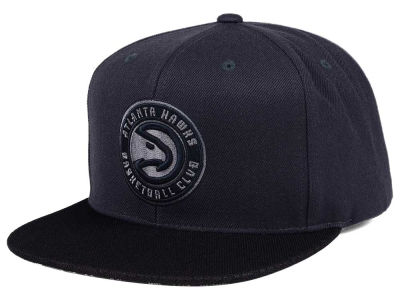 Atlanta Hawks Mitchell & Ness NBA Hologram Mesh Stop On A Dime Snapback Cap