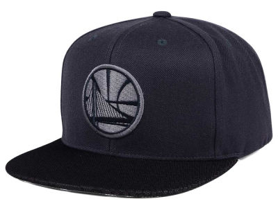 Golden State Warriors Mitchell & Ness NBA Hologram Mesh Stop On A Dime Snapback Cap