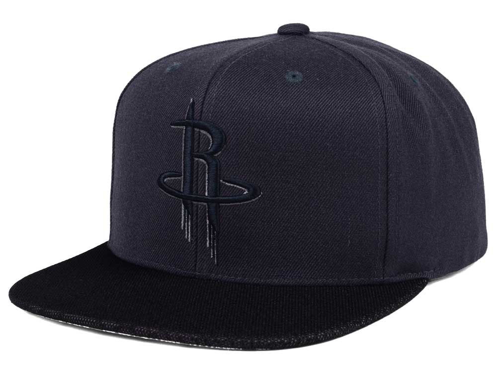 hot sales ffbf5 c04ce ... coupon code for houston rockets mitchell ness nba hologram mesh stop on  a dime snapback cap