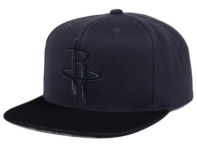 Houston Rockets Mitchell & Ness NBA Hologram Mesh Stop On A Dime Snapback Cap