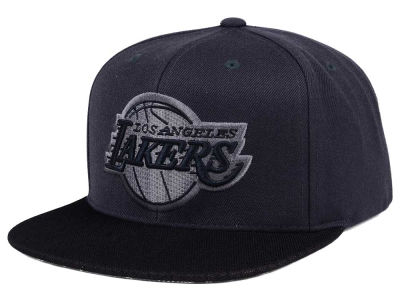 Los Angeles Lakers Mitchell & Ness NBA Hologram Mesh Stop On A Dime Snapback Cap