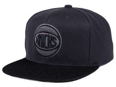 New York Knicks Mitchell & Ness NBA Hologram Mesh Stop On A Dime Snapback Cap