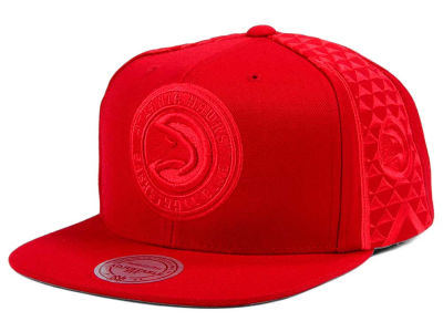 Atlanta Hawks Mitchell & Ness NBA Tonal Short Hook Snapback Cap