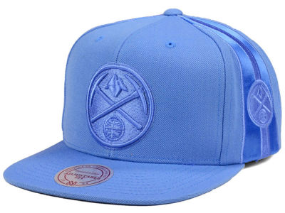 Denver Nuggets Mitchell & Ness NBA Tonal Short Hook Snapback Cap